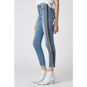 BLANKNYC Skinny Jeans multicolored stripes Size 28